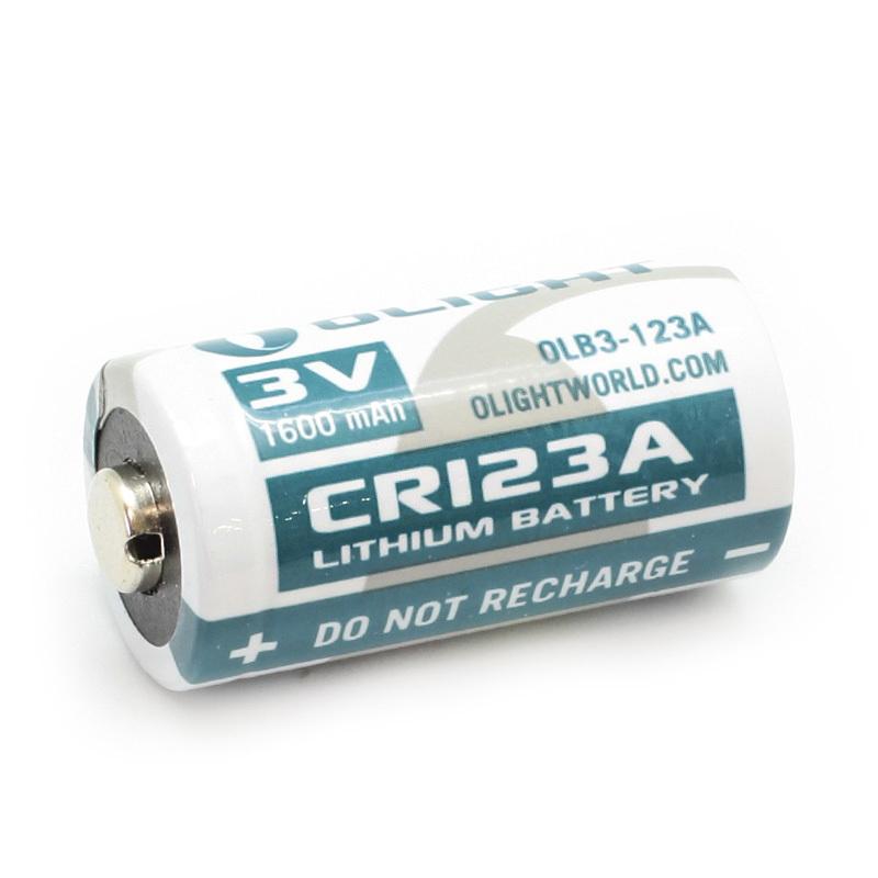 Батарея Li-ion Olight CR123А 3.0V. 1600 mAh