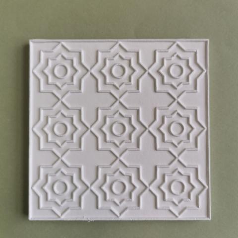 Плитка Каф'декоръ 10*10см., арт.060