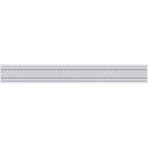 Бордюр Эрмида серый 05-01-1-56-03-06-1020-1 400х50