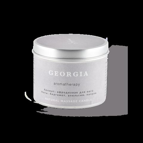SmoRodina Натуральная свеча для аромамассажа «Грузия», 200 мл