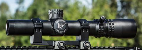 Оптический прицел NIGHTFORCE NXS™ 2.5-10×32 COMPACT ZeroStop™ MIL-DOT™ (C454)