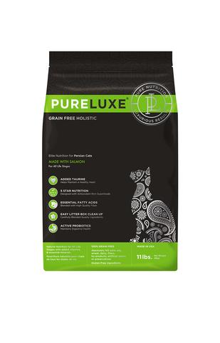 купить PureLuxe Elite Nutrition for persian cats with salmon сухой корм для персидских кошек c лососем