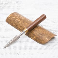 Нож для Пуэра, красное дерево