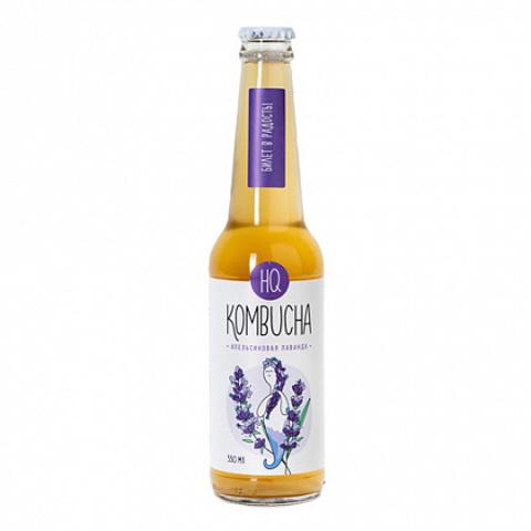 Напиток безалкогольный «Лаванда с цедрой апельсина» 0,33л.стекл. бут