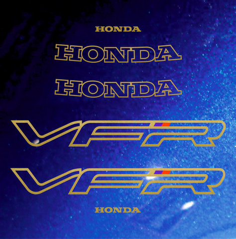 Набор виниловых наклеек на мотоцикл HONDA VFR 750 1991