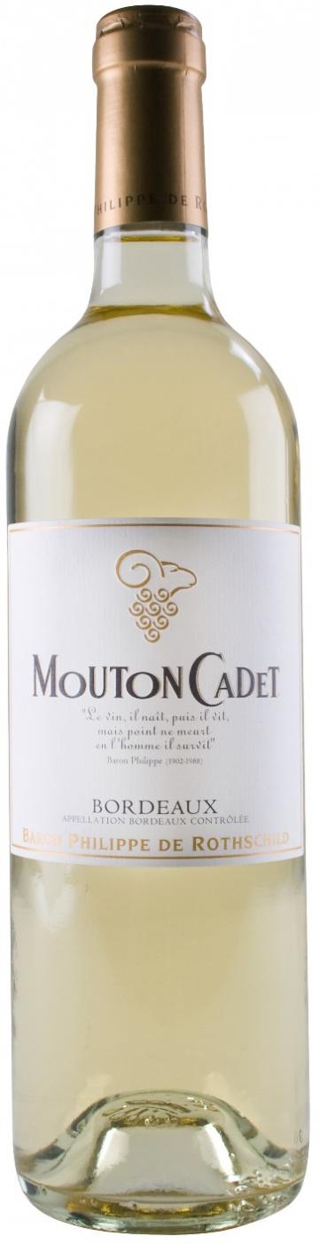 Вино Мутон Каде белое сухое 0,75л