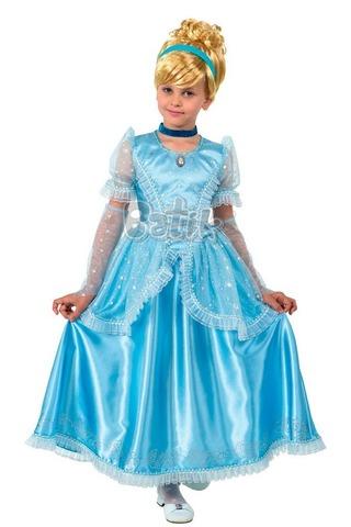 Карнавальный костюм Принцесса Золушка (текстиль)