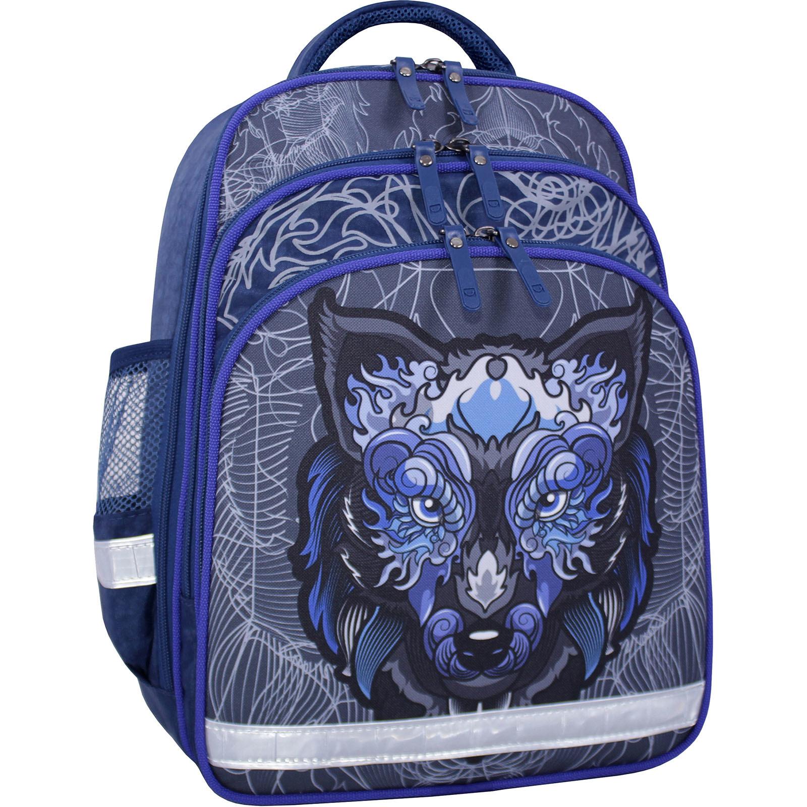 Школьные рюкзаки Рюкзак школьный Bagland Mouse 225 синий 506 (0051370) IMG_2562_суб.506_.JPG