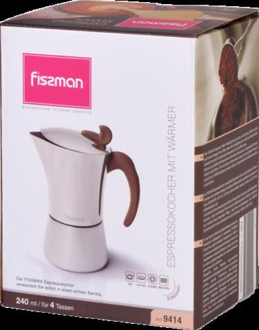 Кофеварка Fissman 9414 (4 чашки)