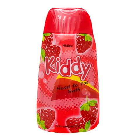 Шампунь-гель для душа для детей Kiddy c клубничным ароматом Mistine 200 мл / Mistine Kiddy Head to toe Strawberry 200 ml