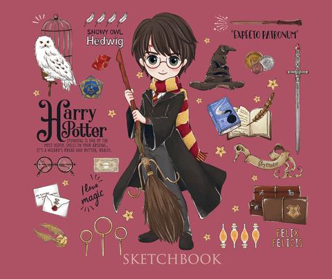 Скетчбук «Гарри Поттер». Коллекция «Cute kids»
