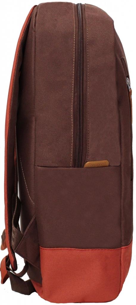 Рюкзак Bagland Donatti 16 л. коричневий/кирпич (0011666)