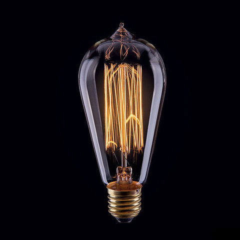 Ретро лампа Эдисон ST64