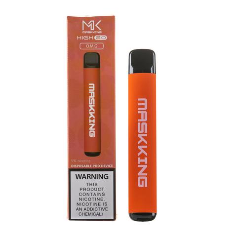 Одноразовая электронная сигарета MASKKING High 2.0 OMG (Манго, Гранат, Апельсин)