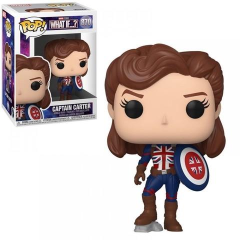 Funko POP! Bobble Marvel What If Captain Carter