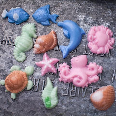 Мыло Морское ассорти. Пластиковая форма