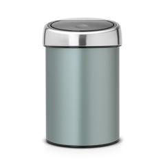 Мусорный бак Brabantia Touch Bin (3л), Мятный металлик
