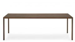 Стол HERON WOOD CS/4070-RL 220, P12/ P12 SMOKE — орех