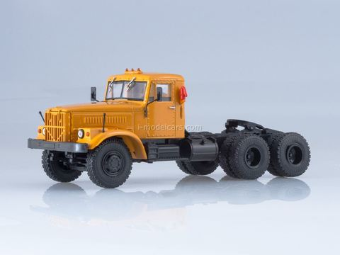 KRAZ-258B1 truck tractor orange 1:43 Our Trucks #12