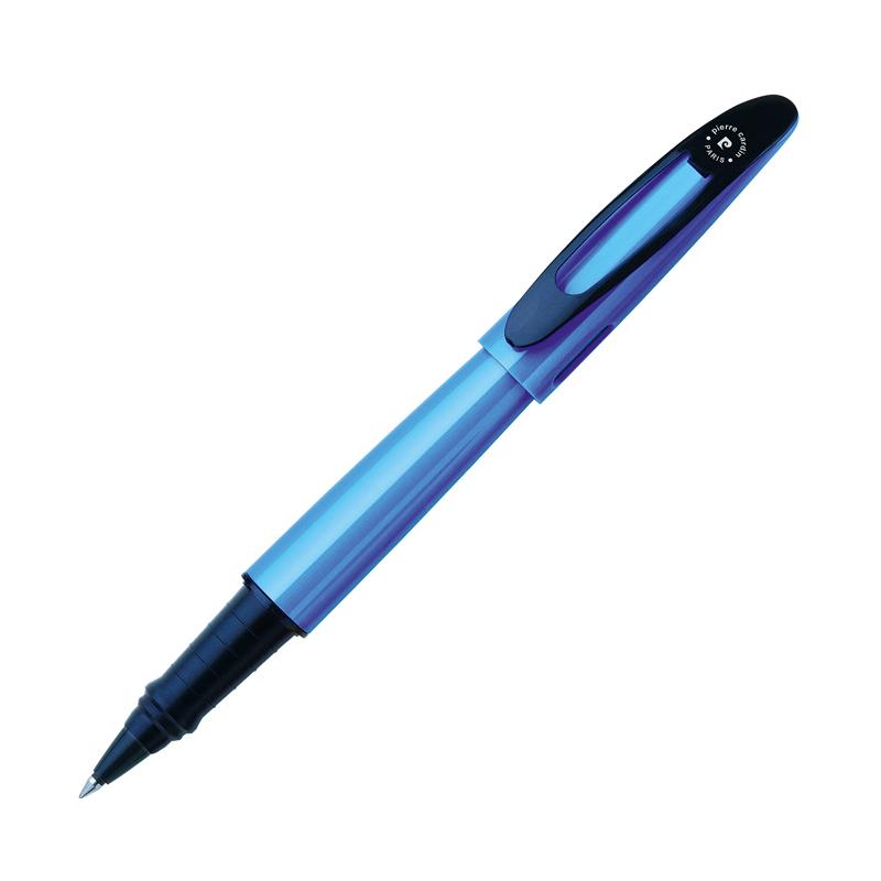 Pierre Cardin Actuel - Blue & Black, ручка-роллер, M