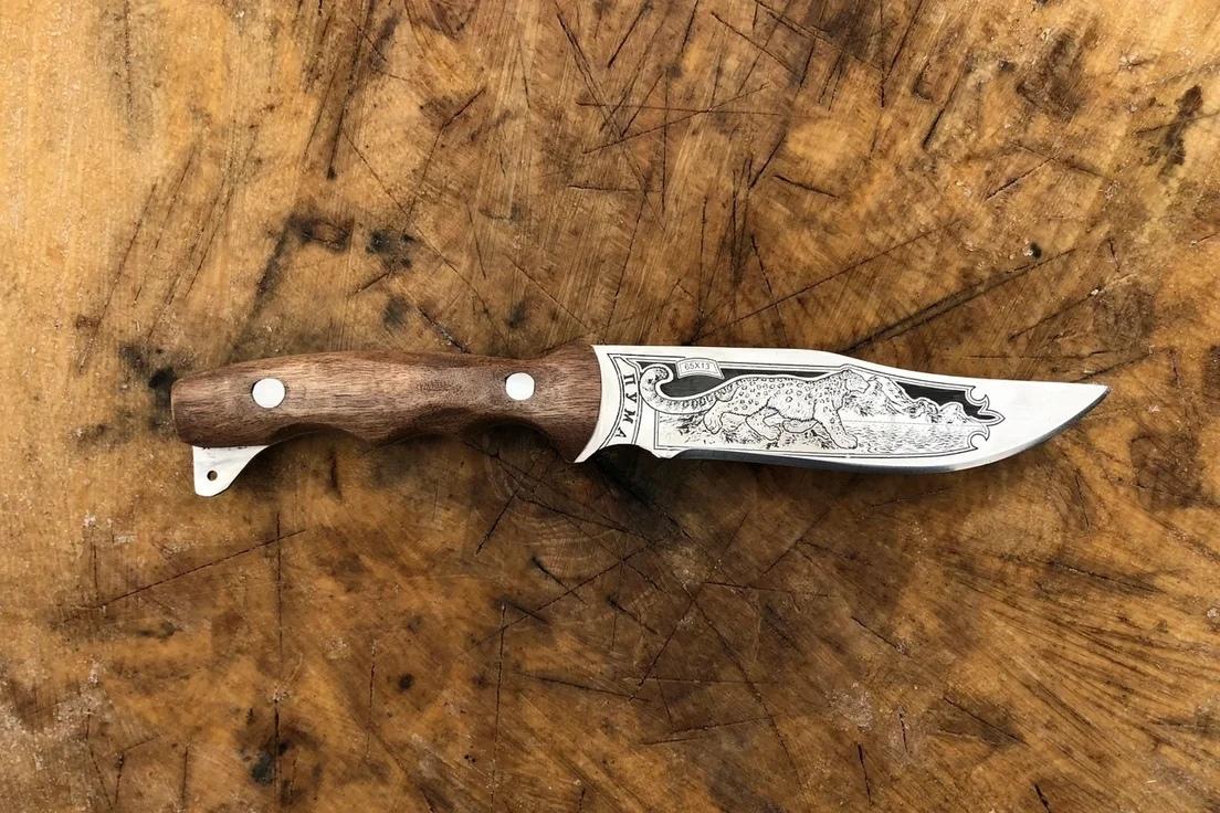 """Кизлярские ножи Кизлярский нож """"Пума"""" Qsc15yzFm8k.jpg"""