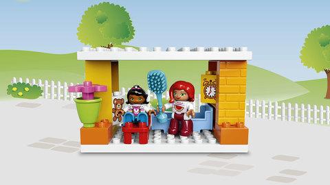 LEGO Duplo: Семейный дом 10835 — Family House — Лего Дупло