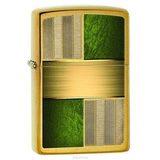 Зажигалка ZIPPO Classic Brushed Brass (28796)