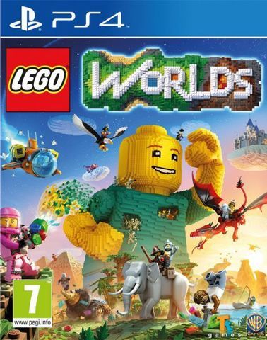LEGO Worlds (PS4, русская версия)