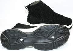 Модные кроссовки Seastar LA33 Black.