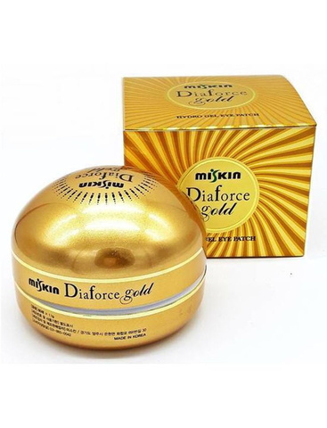MISKIN Dia Force Gold Hydro Gel Eye Patch