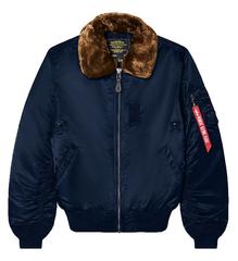 Куртка Alpha Industries B-15 Slim Fit Rep. Blue (Синяя)