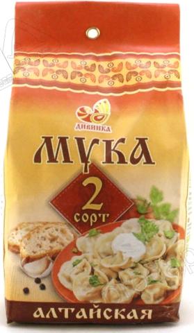 Мука пшеничная 2 сорт