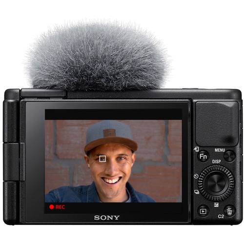 Камера Sony ZV-1 чёрного цвета для блогеров