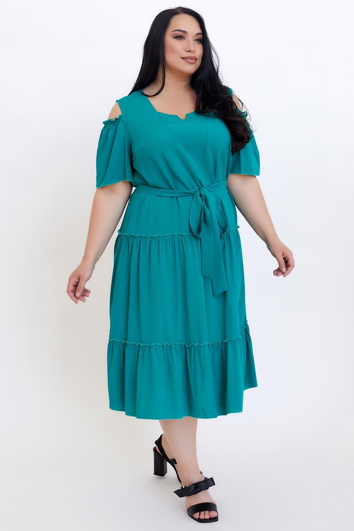 Сукня Люсьєна (бірюза)