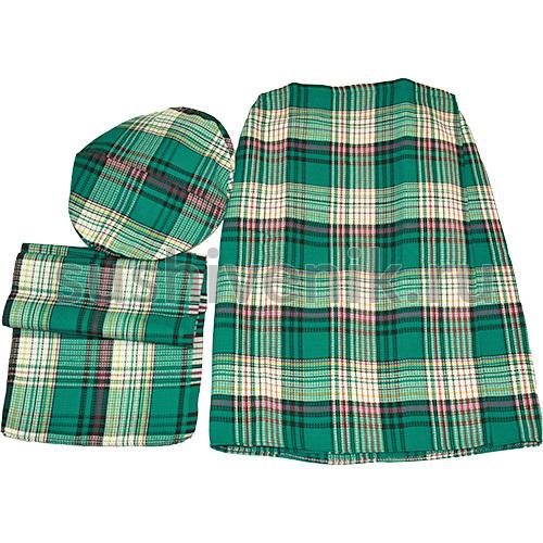 Набор шотландка (зеленый)