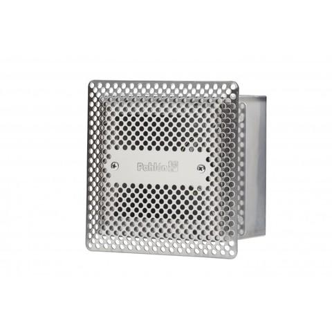 Донный слив квадратный 150х150х100 нержавеющая сталь AISI-316 внутреннее подключение 2