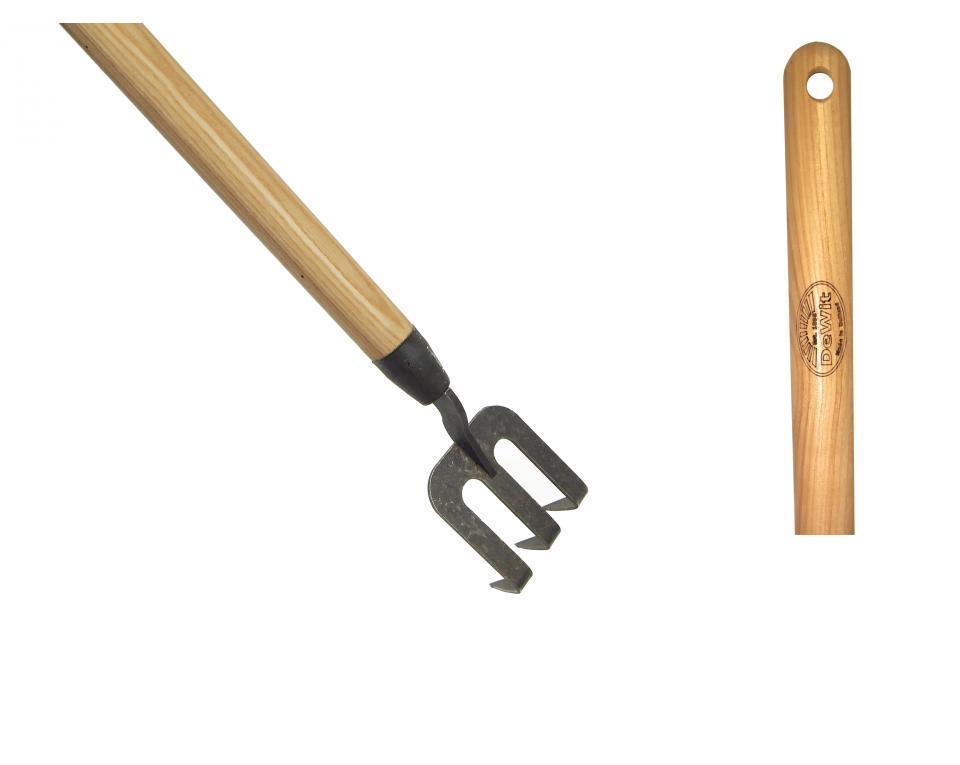 Вилка ручная с загнутыми зубьями DeWit рукоятка из ясеня 1400мм