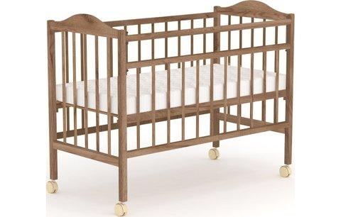 Кровать детская Фея 203, табачный дуб