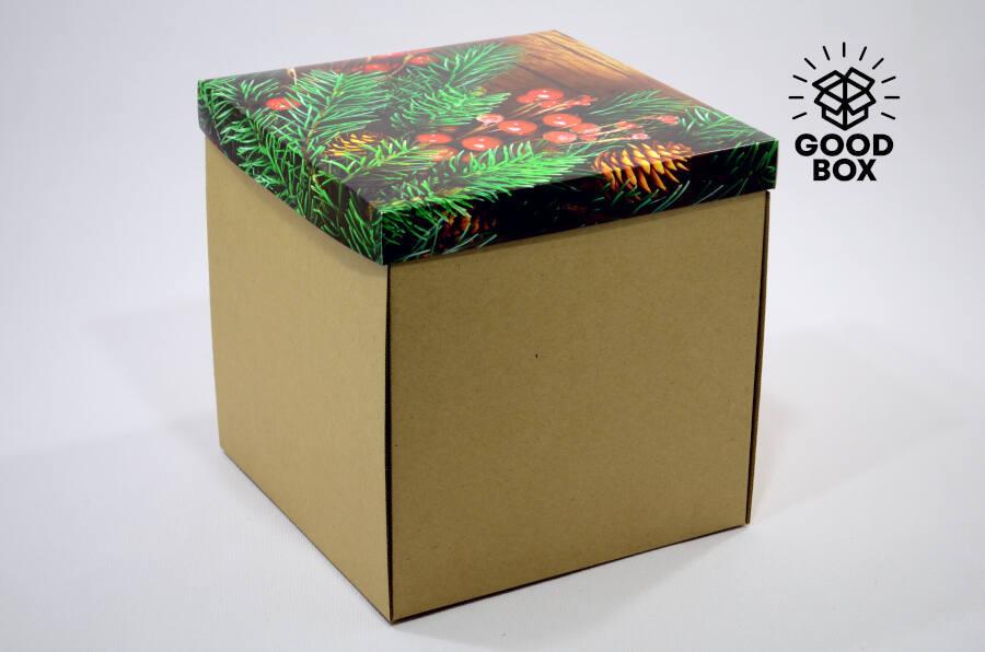Большая новогодняя коробка купить в Казахстане