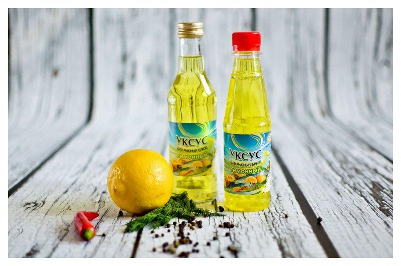 Уксус Лимонный 6 % 250 мл.