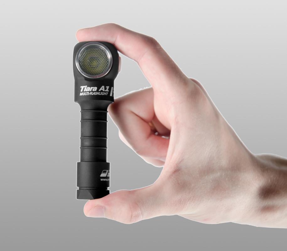 Мультифонарь Armytek Tiara A1 Pro (тёплый свет) - фото 3