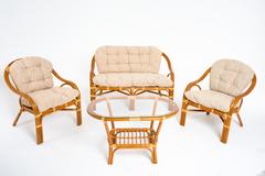 Плетеный комплект мебели из ротанга Vinotti Ява