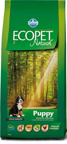 Farmina Ecopet Natural Puppy Maxi Сухой корм для щенков крупных пород с курицей