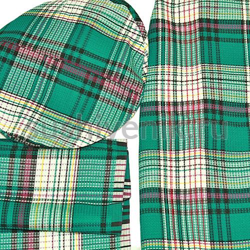 Килт Шотландский мужской зелёный