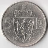 K5276, 1963, Норвегия, 5 крон