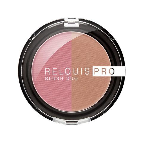 Румяна компактные Relouis Pro Blush Duo тон 206