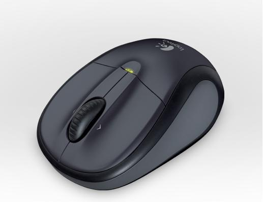 LOGITECH M305 Wireless Mouse Dark Silver