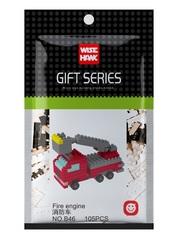 Конструктор Wisehawk Пожарная машина 105 деталей NO. B46 fire engine Gift Series