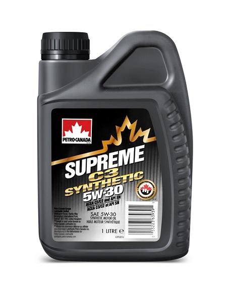 SUPREME C3 SYNTHETIC 5W-30 Petro-Canada моторное масло для двигателей (1 литр)
