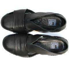 Мужские сандали Luciano Bellini 801 Black.